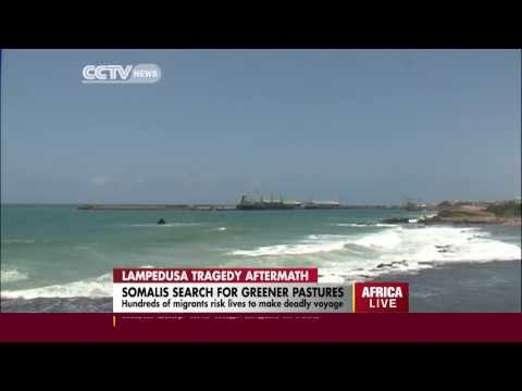 Hundreds of Somalis risk their lives to make deadly voyage to Europe