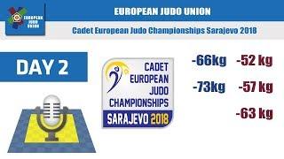 Cadet European Judo Championships - Sarajevo 2018 - Day 2