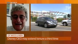 Money Talks: Disney's Bob Iger extends CEO tenure