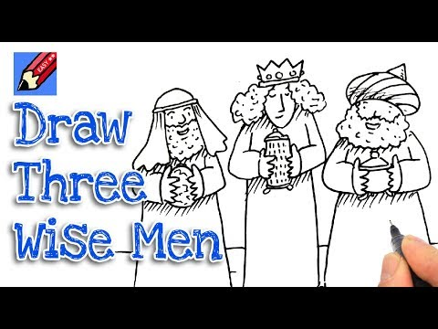 How To Draw The Nativity Real Easy Shoo Rayner Author