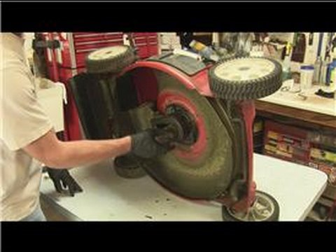 Lawn Mower Repair : How to Replace the Drive Belt on a Rear-Drive Lawn Mower