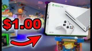 Won a Xbox One for $1.00 at Arcade Game!   JOYSTICK