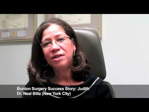 Judith: Bunion Surgery