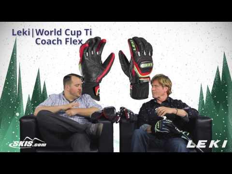 2016 Leki World Cup Ti and Coach Flex Glove Overview by SkisDotCom