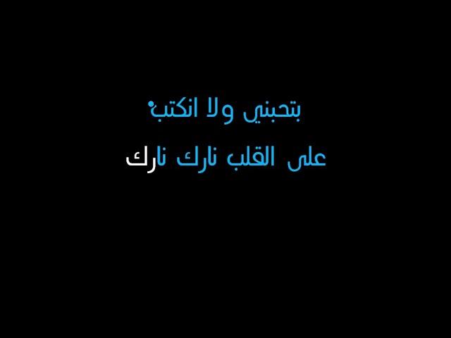 كلمات أغنية أنا بعشقك v2 - ميادة الحناوي