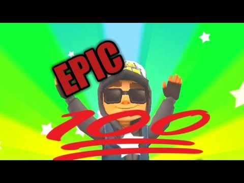 EPIC SUBWAY SURFERS GAMEPLAY
