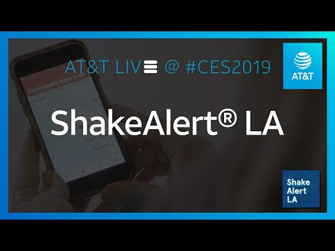 Early Warning Earthquake App | AT&T-YoutubeVideoText