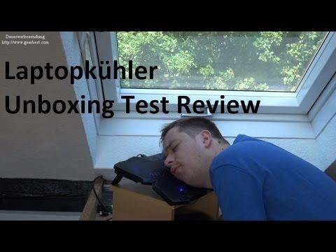 Laptop Kühler bringen die wirklich was? Unboxing und Test GearBest