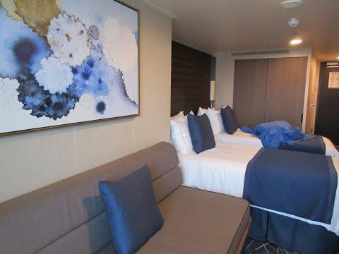 NCL Norwegian Encore Cabin Tour Balcony Mini Suite - Room 10188