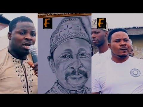 MURPHY LALA PRESENT AT THE8DAYS FRIDAU PRAYER OF THE GREAT ICON IN NOLLYWOOD FASASI OLABANKE DAGUNRO