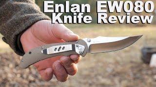Enlan EW080 Knife Review.  It's a Pocket Knife!