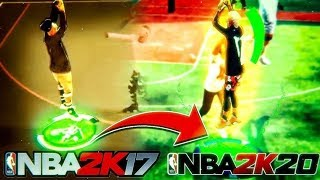 *NEW* LEGENDARY GREENLIGHT JUMPSHOT FROM NBA2K17 BROUGHT BACK TO NBA2K20! 100% GREEN NEVER MISS!