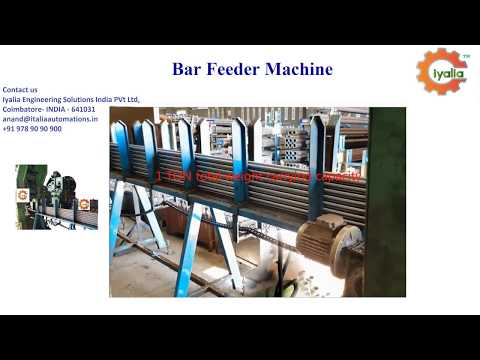 Special Purpose Bar Feeder Machine