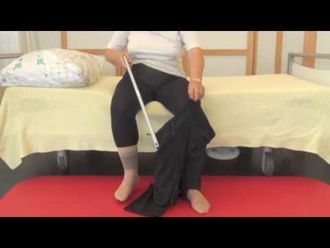Hose anziehen mit Hilfe einer Greifzange