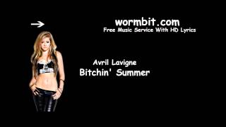 Avril Lavigne - Bitchin' Summer (Audio)