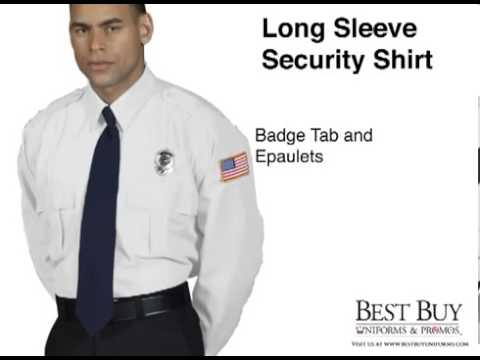 Security Guard Shirts | Long Sleeve Unisex - Best Buy Uniforms