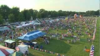 preview picture of video 'The Flag City BalloonFest in Findlay, Ohio'