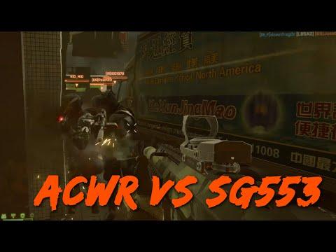 Karabiner vergleich - ACWR vs SG553 - Post Spring Patch - Deutsch [GER/HD/1080p/60FPS]
