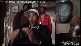 Key & Peele - Yo' Mama Has Health Problems Reaction