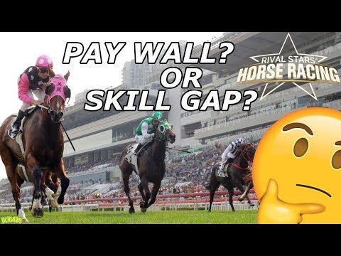Rival Stars Horse Racing. The Horse Pay Wall???