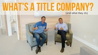 What's a title company? and why you need them! | RiseUtah.com