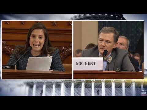 Stefanik Questions Witnesses in First Open Impeachment Hearing
