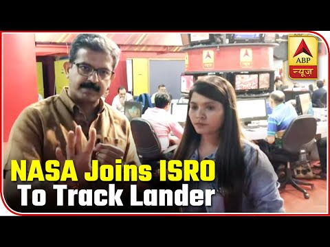 Chandrayaan 2: NASA Joins ISRO To Track Lander Vikram | ABP News