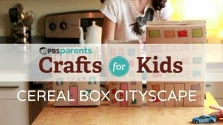 Cereal Box Cityscape | Crafts For Kids | PBS Parents