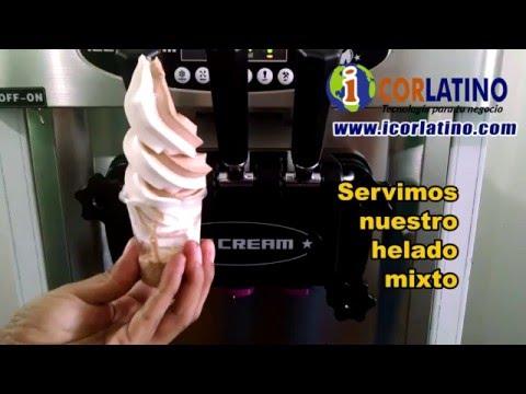 MAQUINA DE HELADOS SOFT - CREMA