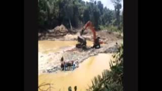 Tambang Emas Ilegal di Nagan Raya