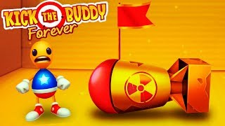 ANTISTRESS AGAINST THE SUPER BOMBS! Destroy in any way - Kick the Buddy Forever
