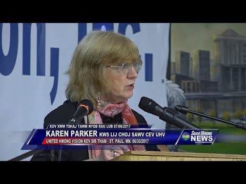 SUAB HMONG NEWS:  Karen Parker talks about the right to self-determination at the United Nation