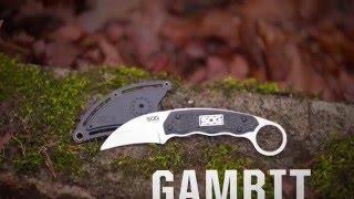 SOG Gambit Sheepsfoot Satin (GB1001-CP) - відео 1
