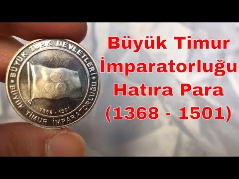 Büyük Timur İmparatorluğu Hatıra Para