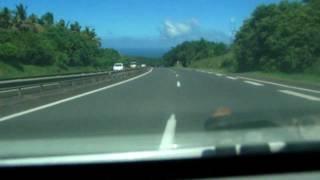 preview picture of video 'Ile de la Réunion Descente duTampon à St Pierre en quittant La CAHEB'