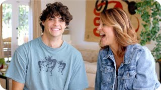 Noah Centineo's Mom Shares His Embarrassing Stories // Omaze