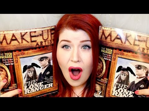 I'M IN A MAGAZINE!!! Make-Up Artist Magazine Issue 103