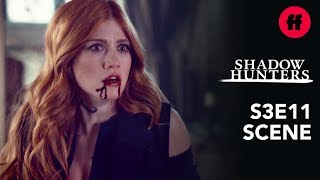 Shadowhunters Season 3, Episode 11 | Clary Attacks Jonathan