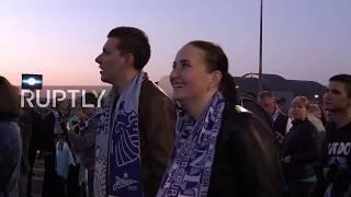 Russia: Fans celebrate as Zenit become Russian Premiere League champions