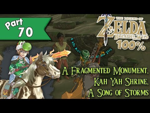 Lets Play The Legend Of Zelda Breath Of The Wild Part 32 A Song