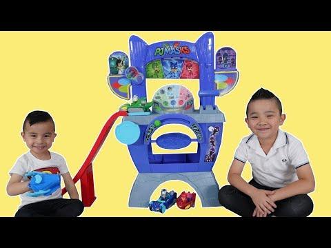 BIGGEST PJ MASKS Save The Day Headquarters   CKN Toys