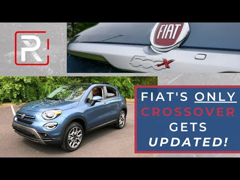 The 2020 Fiat 500X Gets Much Needed Upgrades But Doesn't Really Stand Out