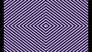 Video kaarten met optische Illusies, Optische Illusie diamanten volg de de instructie