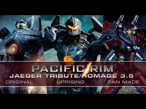 ccca26409d8 UPDATED PACIFIC RIM JAEGER HOMAGE 3.5 with MOVIE   CUSTOM FAN ARTWORK
