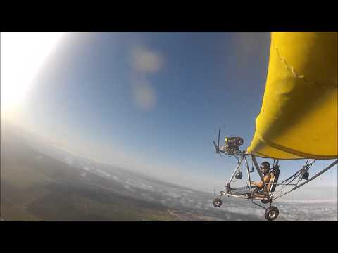 Engine failure at 4k ft in my Spitfire Ultralight!