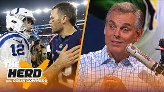 Colin Cowherd reacts to NFL executives ranking starting quarterbacks in 4 tiers | NFL | THE HERD