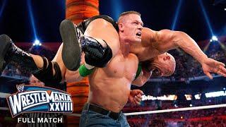 FULL MATCH - The Rock vs. John Cena: WrestleMania XXVIII