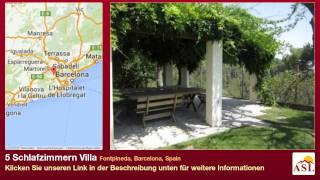 preview picture of video '5 Schlafzimmern Villa zu verkaufen in Fontpineda, Barcelona, Spain'