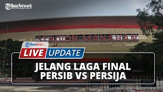 LIVE UPDATE: Jelang Kick Off Leg 2 Final Piala Menpora Persib vs Persija di Stadion Manahan Solo