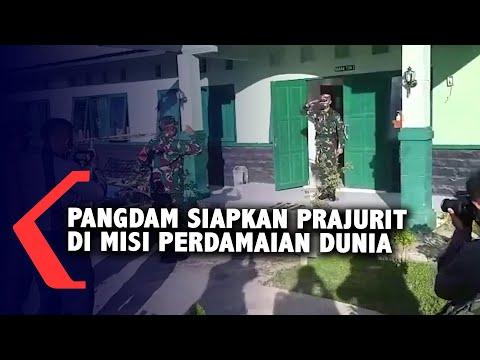 pangdam vi mulawarman siapkan prajuritnya di misi perdamaian pbb